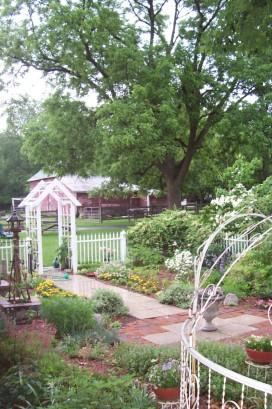 Garden South arbor