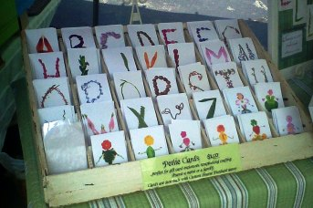 Choose your own letter cards to create any word you like.