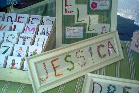 Frames for letter cards available in limited quantities.
